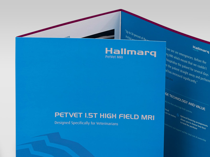 Hallmarq 6 Page A4 Folded Brochure Cover