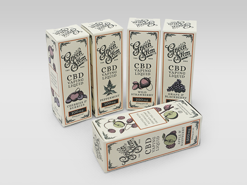Green Stem CBD Boxes